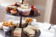 Perfectly Traditional Afternoon Tea at The Bedford Hotel in the heart of Tavistock, available every day.